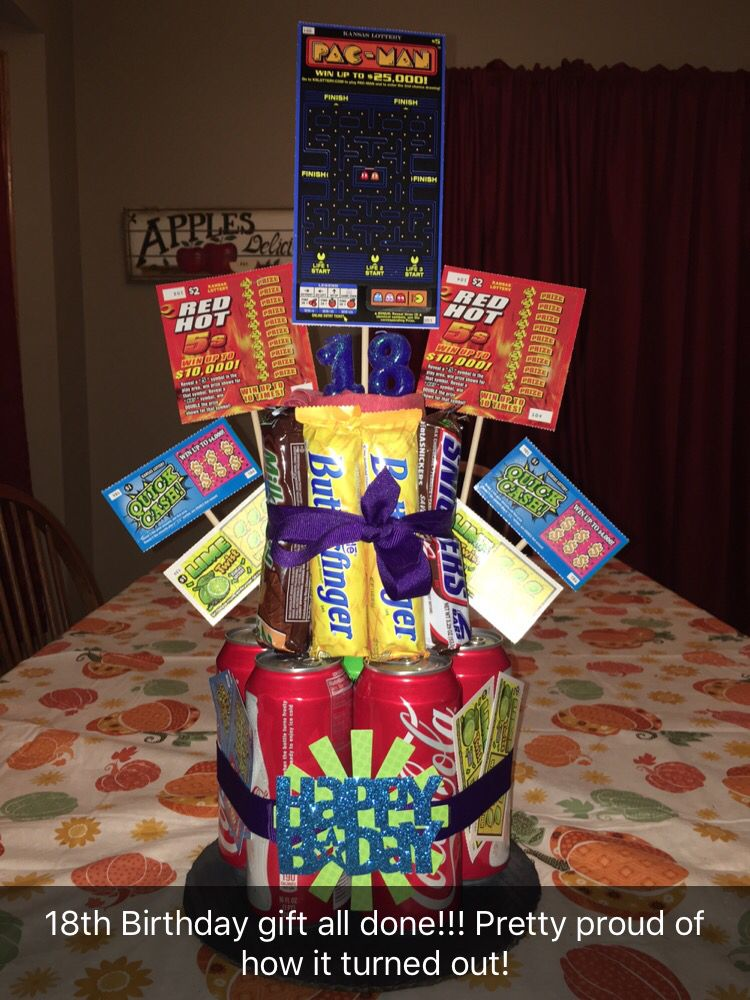 Pin by Jennifer Weiser on DIY! 18th birthday gifts, 18th