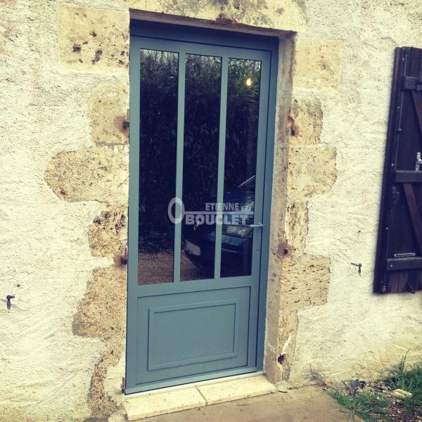 Porte Entre En Acier Style Atelier ligible Au Crdit DImpt