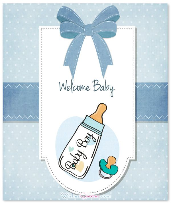 Baby Boy Congratulation Messages With Adorable Images Baby Shower
