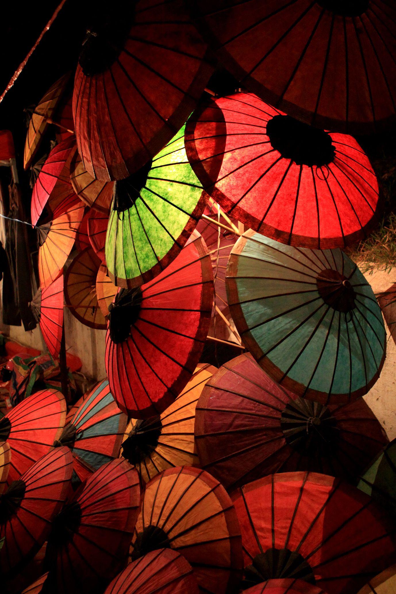 Laos » Luang Prabang » Umbrellas