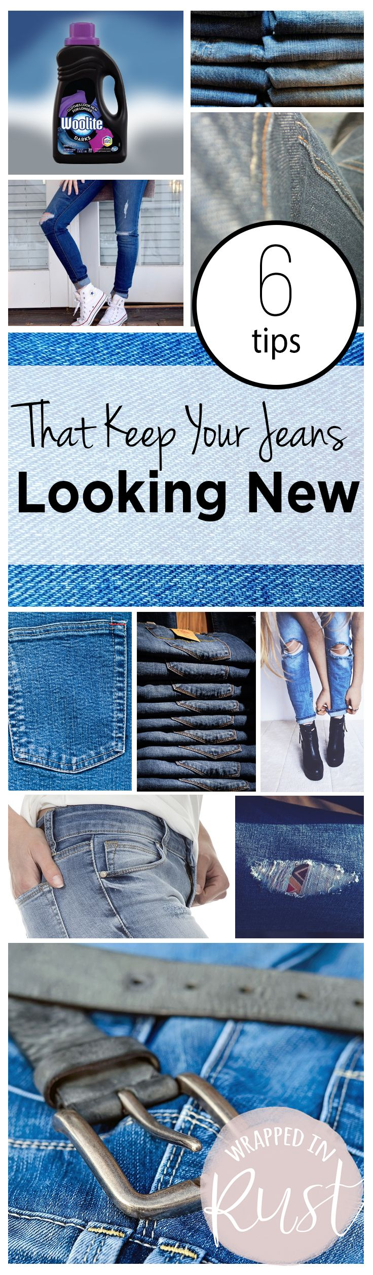 How to Keep Your Jeans Looking New, How to Care for Your Jeans, Caring for Your Jeans, Clothing, Clothing Hacks, Clothing Care Hacks, How to Keep Your Jeans Looking New, Popular Pin