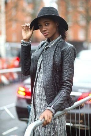 568937dccee7c Why not try a Fedora  Pair it with a biker jacket for a softer look!
