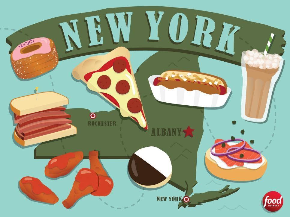 Exploring The Taste Of Nyc Neighborhoods Nyc Neighborhoods Iconic Dishes Albany New York