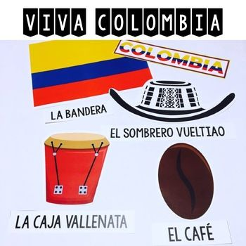 Viva Colombia {Classroom Decor and Photo Booth Pro
