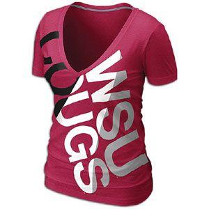 Nike College Deep V Blended T-Shirt - Women's
