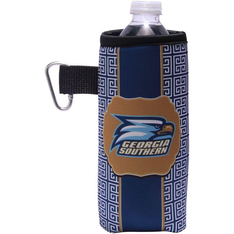 Southern Eagles Greek Key Water Bottle Caddy