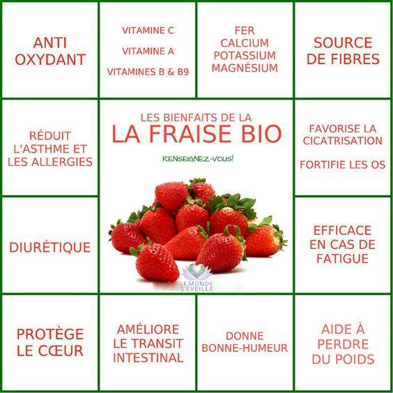 les bienfaits de la fraise la fraise le monde s 39 eveille gr ce nous tous sant et bien. Black Bedroom Furniture Sets. Home Design Ideas
