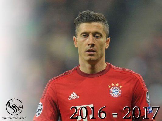 Robert Lewandowski Frisur Mit Coole Undercut Haarschnitte Für 2016