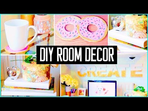 Cute diy room decor for summer for Room decor laurdiy