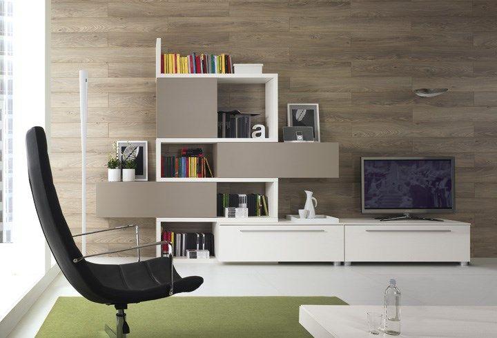 soggiorni moderni zig-zag qz0013 #soggiorno #arredamento ... - Arredamento Design Living
