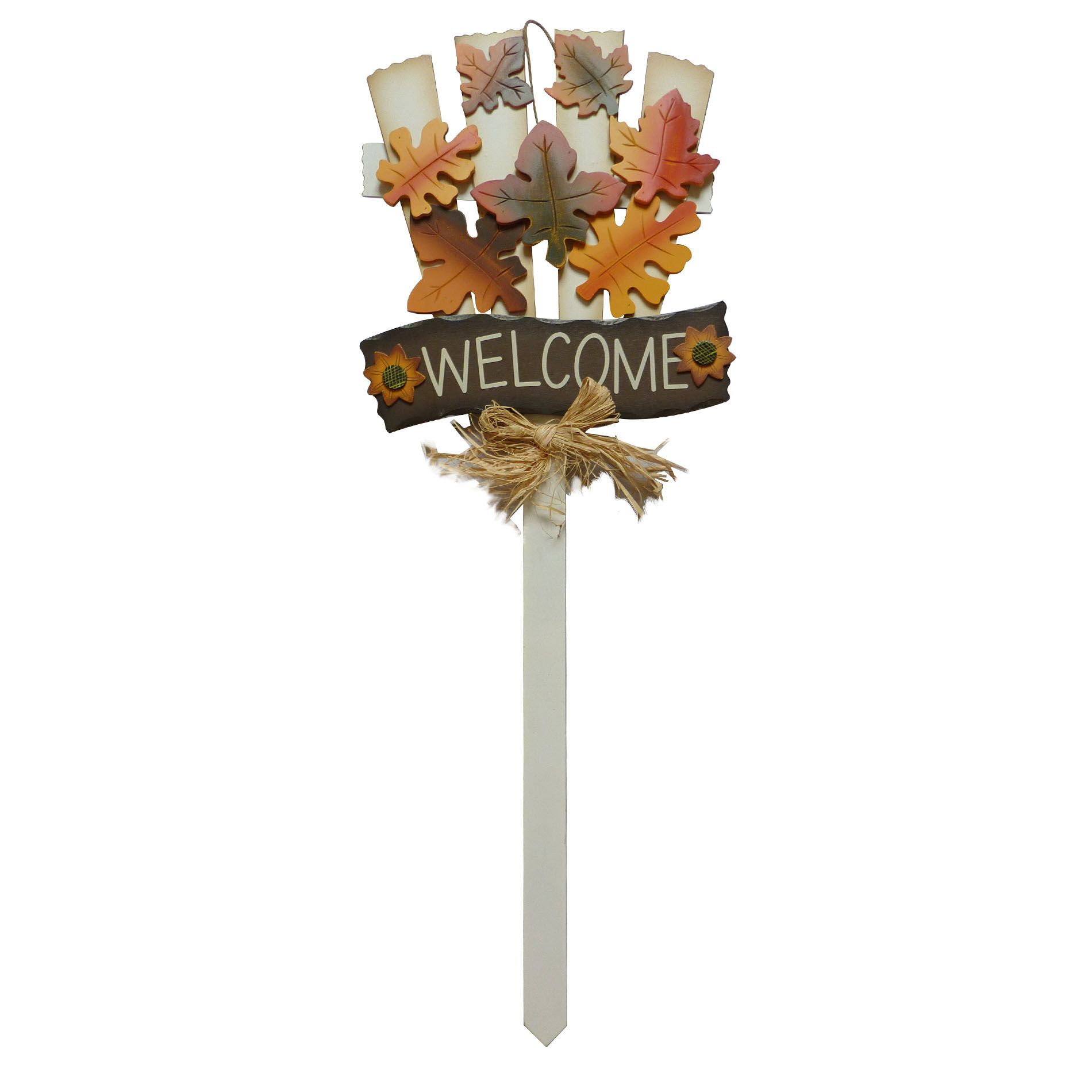 Decorate your front yard or garden this year with this wondeful Halloween Yard Stake. Approximately 34