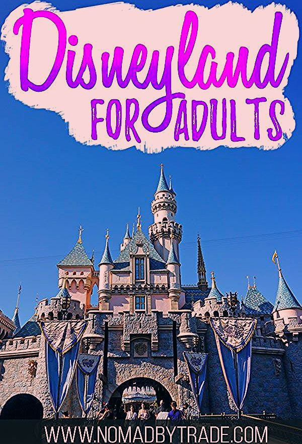 Photo of The Grown-up's Guide to Disneyland for Adults • Nomad by Trade