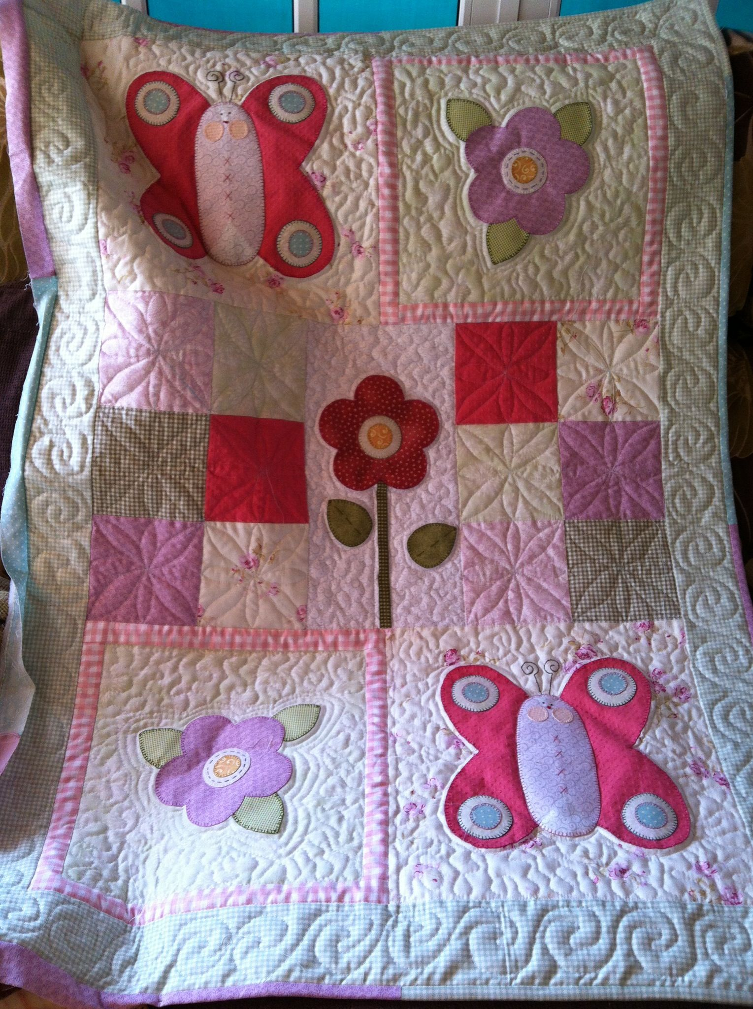 Baby quilts bed covers - Colcha Bebe Panel Quiltsbed Coversshoutingbaby