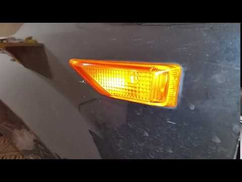 2003-2008 Honda Pilot SUV - Testing Front Side Marker Light After Changing Bulb - YouTube