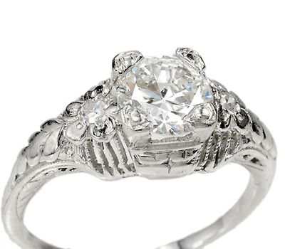 Sophisticated And Understated A Platinum Diamond Ring