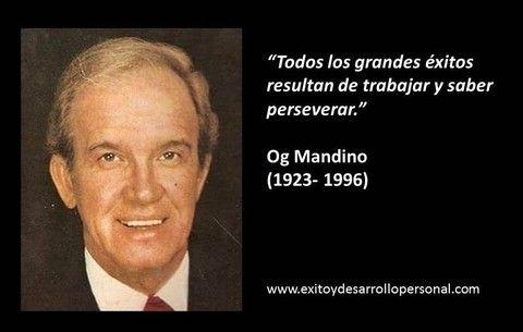 OG MANDINO - Exito, superación y desarrollo personal