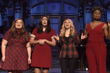 SNL Women Have A Holiday Message \u201cAll I Want For Christmas Is