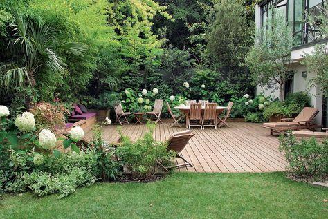 Un Jardin A L Abri Des Regards Jardins Terrasse Jardin
