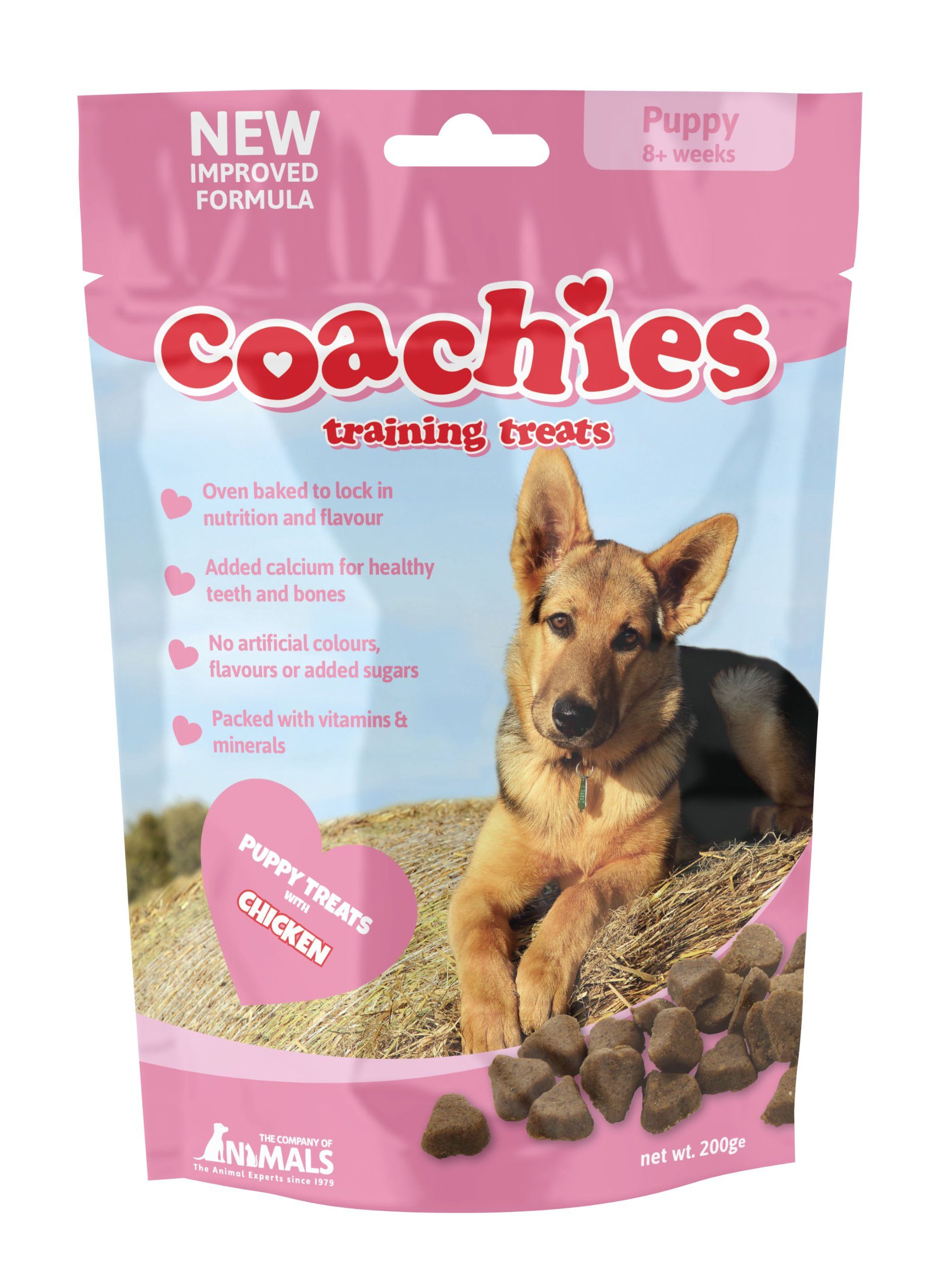 Coachies Training Treats For Puppy 200 G You Can Get More
