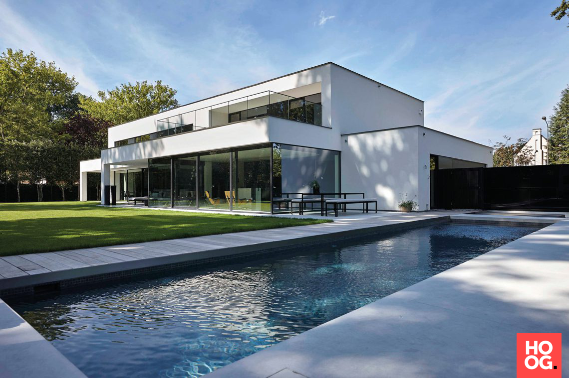 Dumobil villabouw unieke moderne villa hoog exclusieve for Moderne villabouw