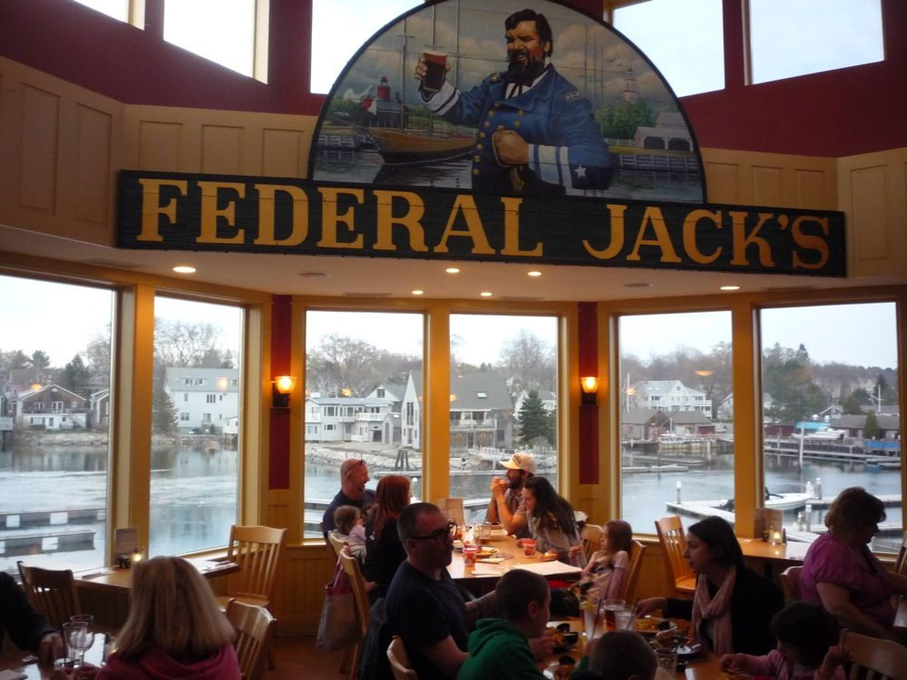 Federal Jack\'s in Kennebunk, Maine, offers amazing water views and ...