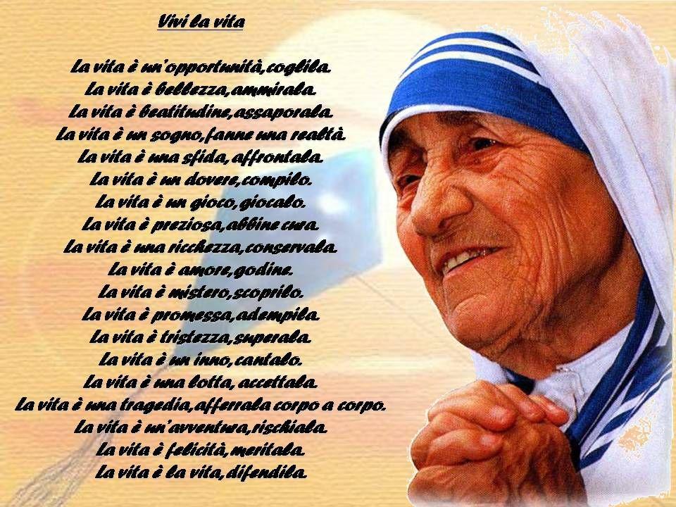 Poesia Madre Teresa Di Calcutta LF52 Regardsdefemmes