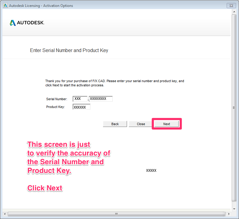 autocad 2018 serial number and product key