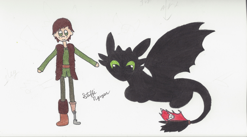 Hiccup N Toothless by Steffistuff on deviantART | Dragon ...