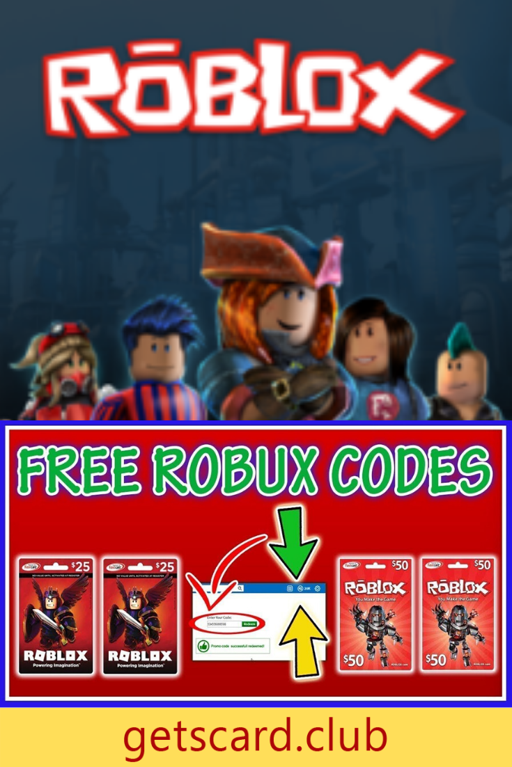 Win Free Roblox Giftcard Codes 2020 In 2020 Roblox Roblox Gifts Gift Card