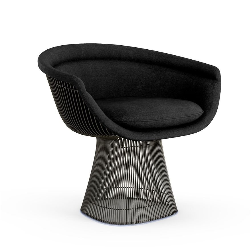 Super Platner Lounge Chair Knoll Matt Black Furniture In 2019 Spiritservingveterans Wood Chair Design Ideas Spiritservingveteransorg