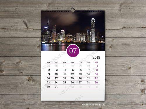 2018 business calendar template Wall calendars Pinterest - business calendar templates