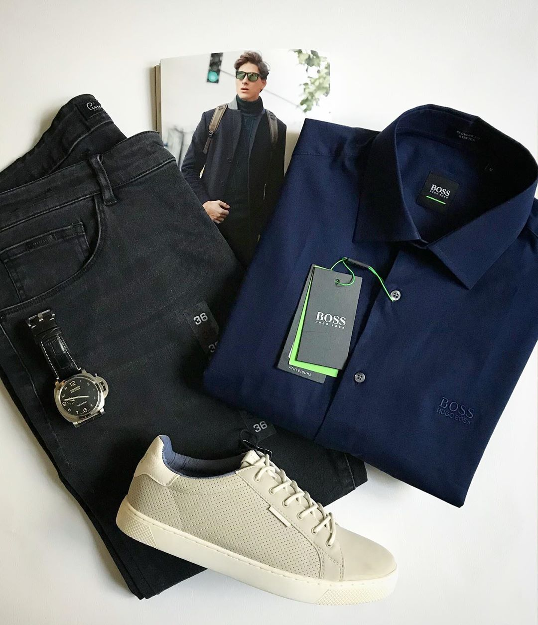 Pierre Cardin Jeans Mens Fashion Fashion Military Jacket