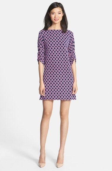 Laundry by Shelli Segal Medallion Print Jersey Dress (Petite) available at #Nordstrom