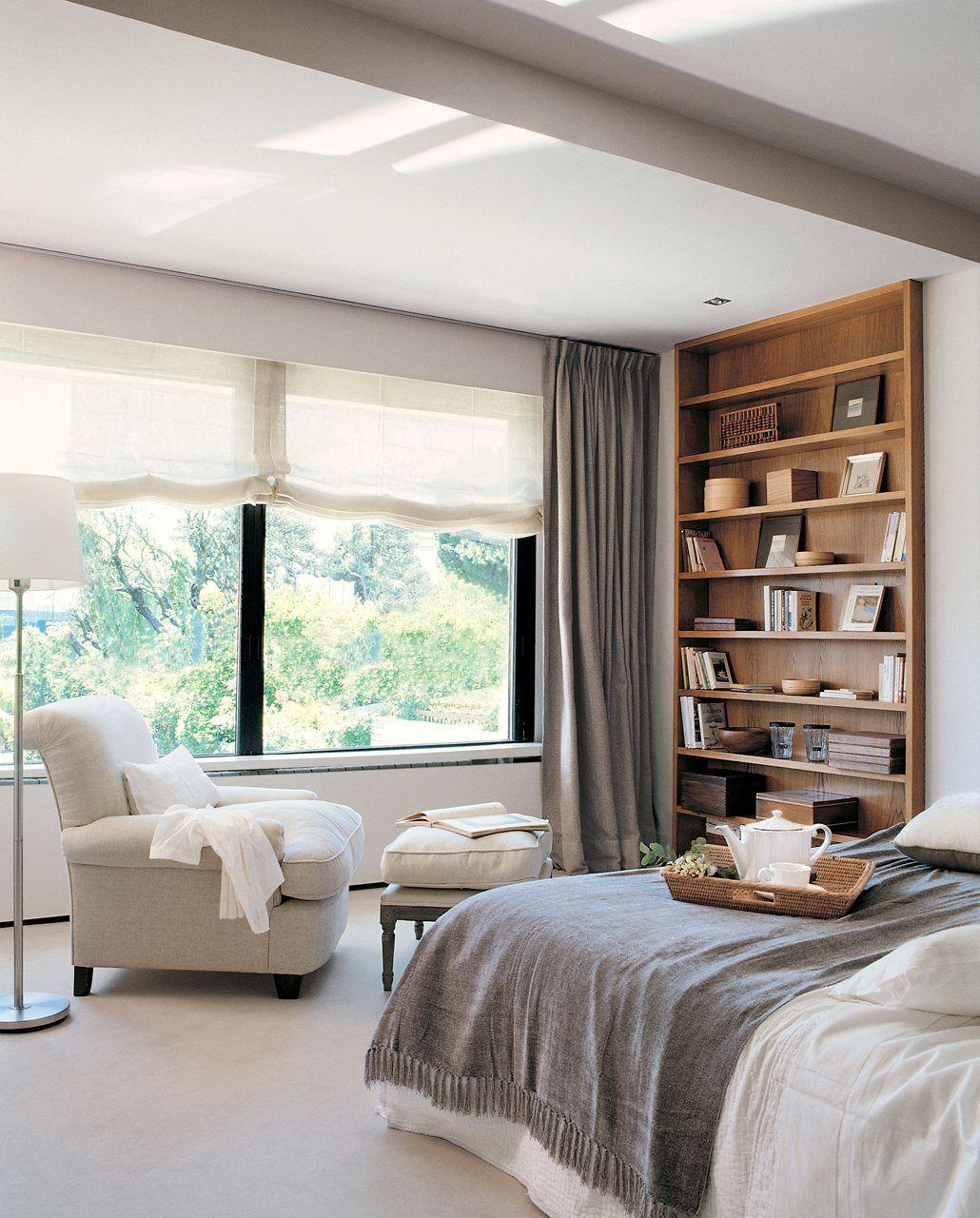 Dormitorios peque os con ideas deco dormitorios - Cortinas de habitacion ...