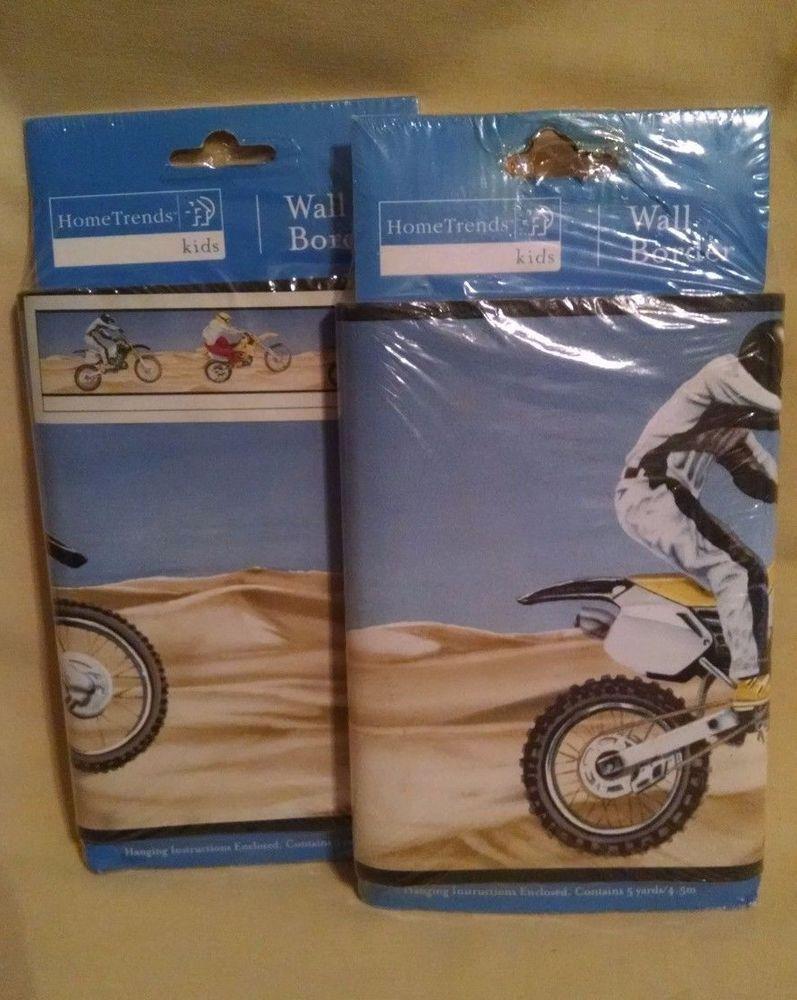 Dune Bike Wallpaper Border 2 Pkg New Home Trends Kids Rg74154f