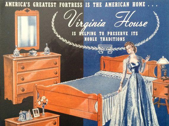 Original Vintage 1940s Virginia House Maple By Retrolane91 On Etsy