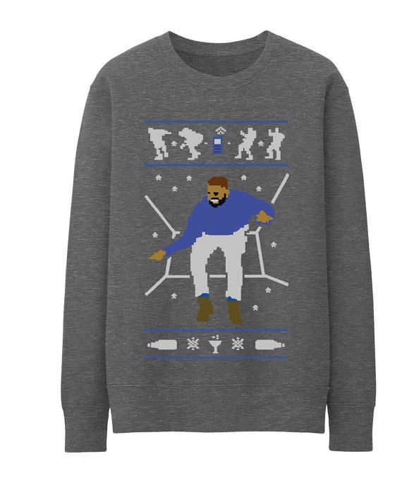 Drake Hotline Bling Ugly Christmas Sweater Unisex Sweatshirt (Not ...