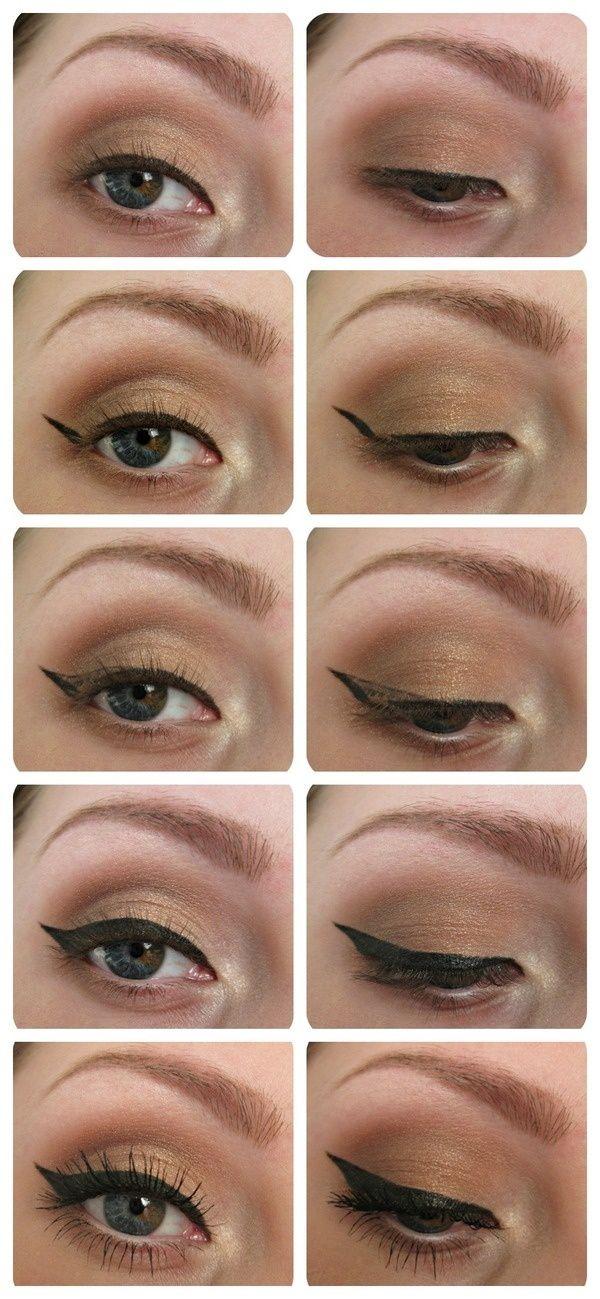 Eyeliner tutorial.. Cause I always screw it up