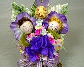Kitschy Cute Easter. Corsage !
