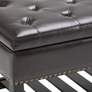 Awe Inspiring Wyndenhall Riley 43 Inch Wide Traditional Ottoman Bench Dailytribune Chair Design For Home Dailytribuneorg