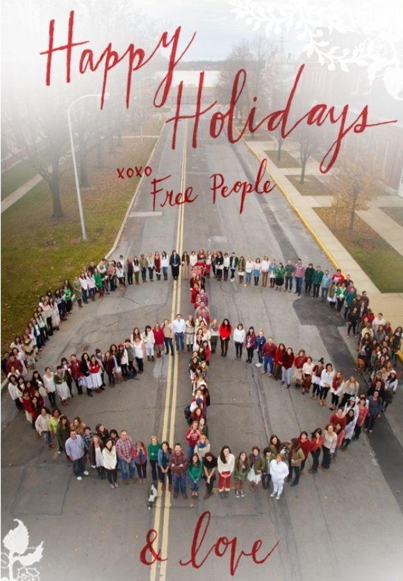 Happy Holidays From Free People! Pinterest Free people, Holidays - free images happy holidays