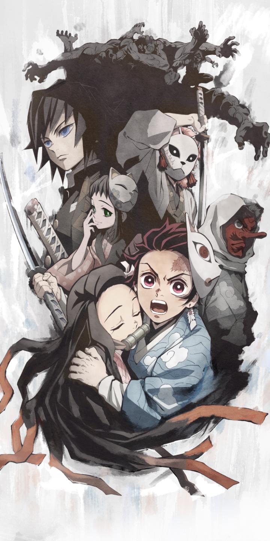 Demon Slayer Aka Kimetsu No Yaiba Anime Demon Anime Wallpaper Anime