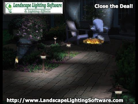 Landscape Lighting Software Is Simple To Work With Have The Customer Email You The Before Pic Landscape Lighting Lighting Design Software Landscaping Business