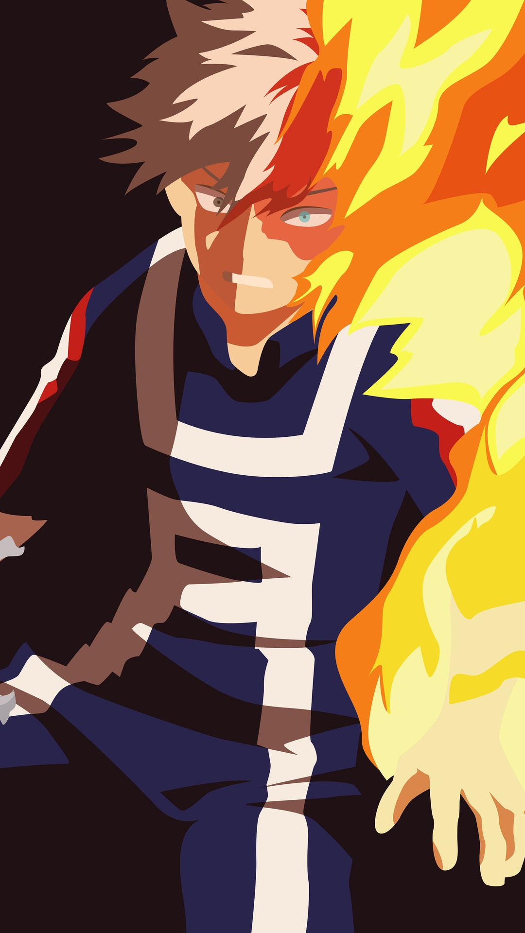 Best Shoto Todoroki Hd Wallpapers In 2020 With Images My Hero