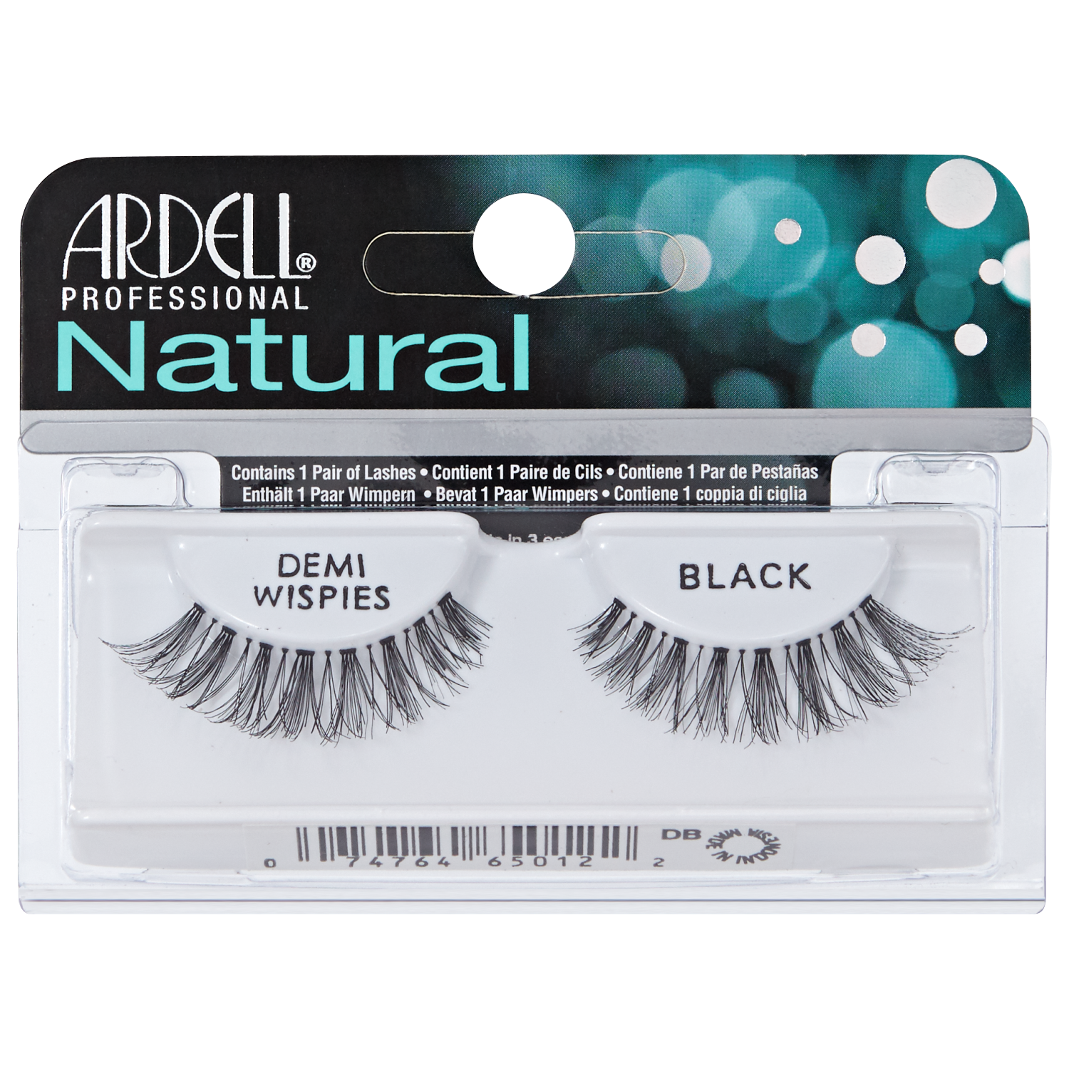 Ardell Invisibands Natural Lashes Demi Wispies Black look so real you will have a hard time telling the difference.