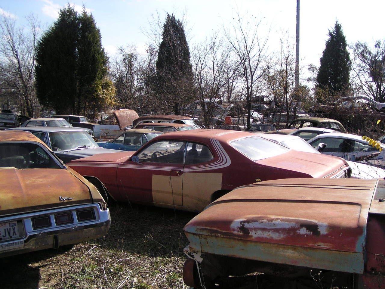 Scrap yard | Second Hand Car Parts | Pinterest | Scrap, Barn finds ...