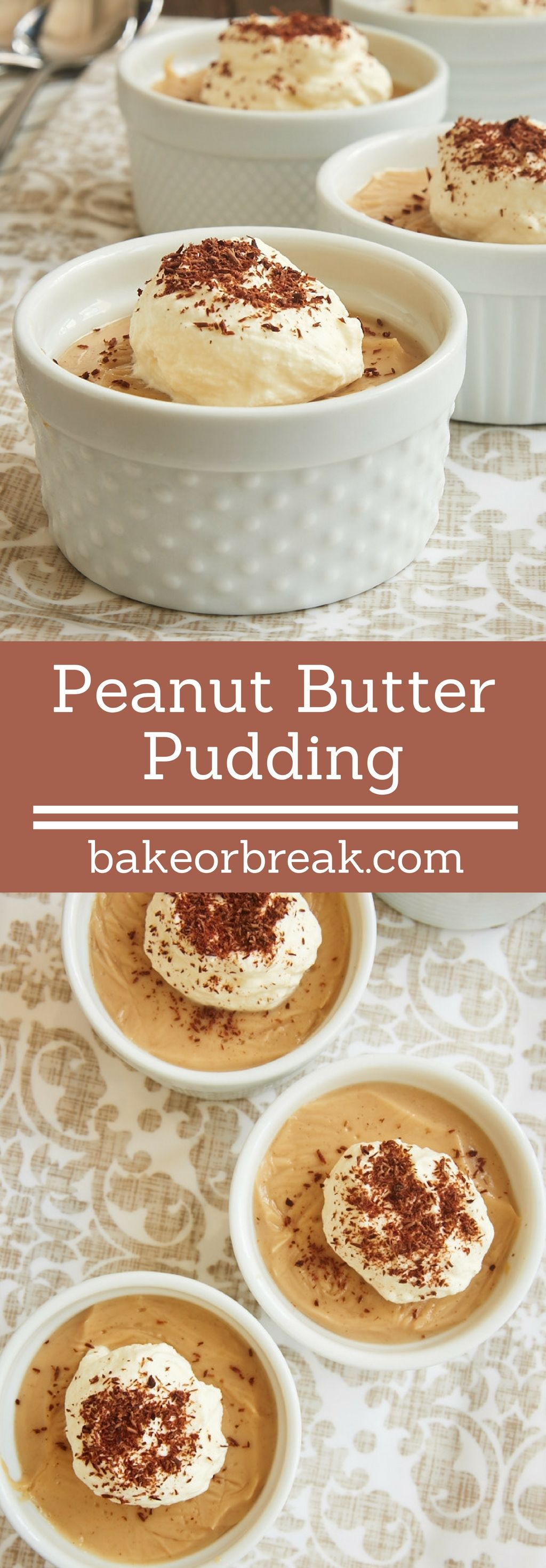 Peanut butter pudding recipe homemade peanut butter for Simple peanut butter dessert recipes