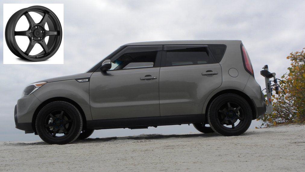 2015 Titanium Kia Soul Custom Wheels Google Search With Images