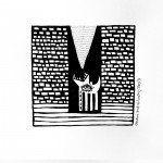 La serie de ilustraciones de Los Lobos es un intento de Marina Ceballos por poner en orden una historia de sublimación involuntaria.