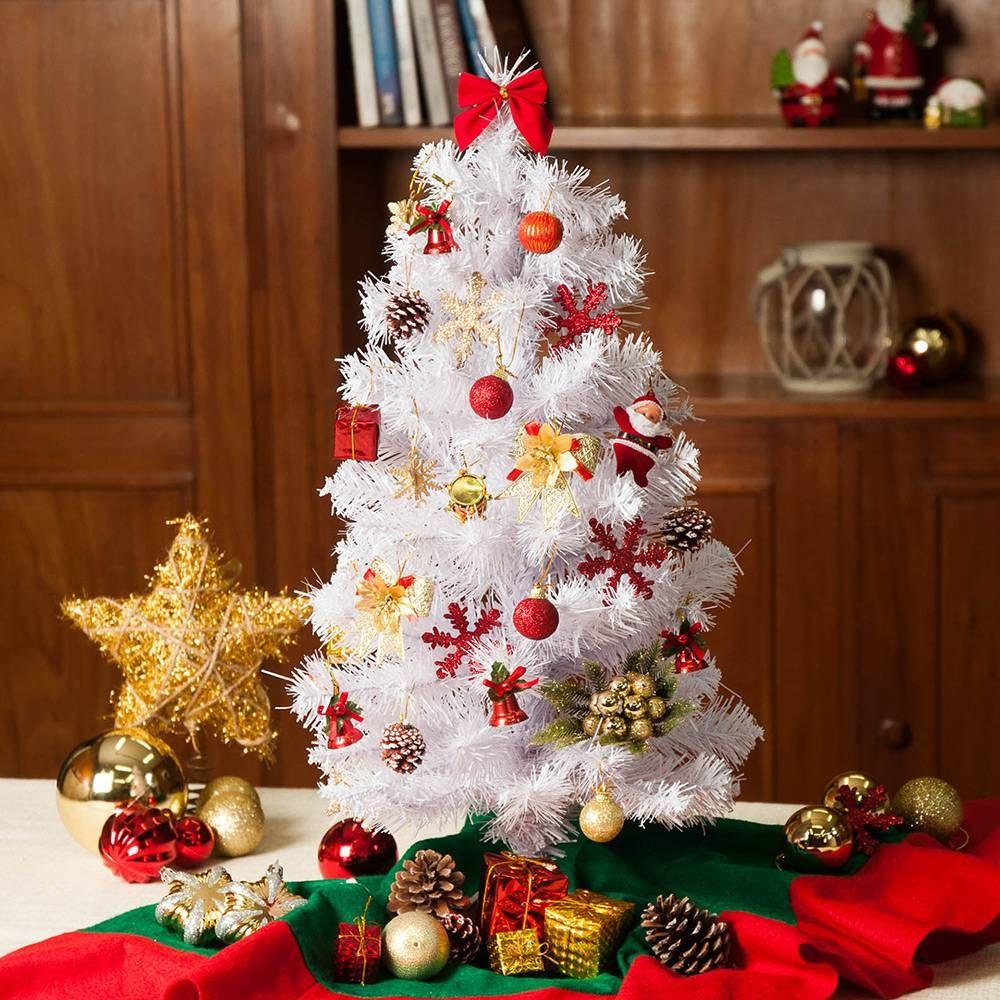 Arvore De Natal Christmas Traditions 60 Cm Branca Americanas